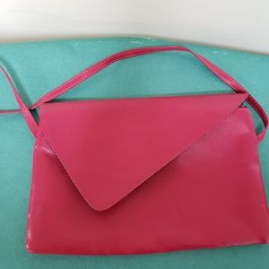 Vintage Canadian Durabilt hot pink shoulder purse